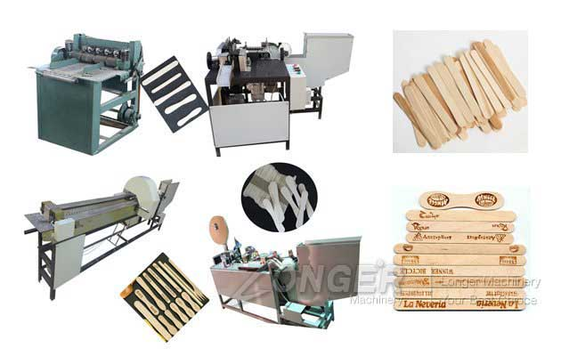 Ice Cream Wood Sticks Production Line|Popsicle Sticks Making Machine