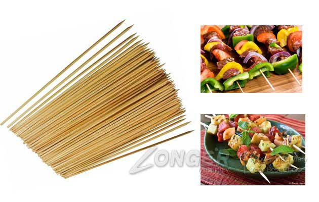 Barbecue Sticks Machine|Bamboo Skewer Making Machine