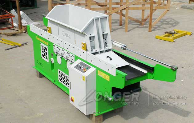 New Type Wood Shaving Machine for Animal Bedding