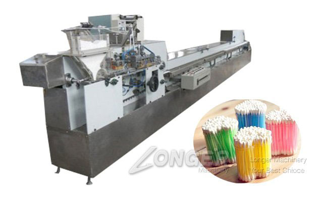 Automatic Alcohol Swab Equipment|Cotton Buds Making and Packaging Machine LGC-800
