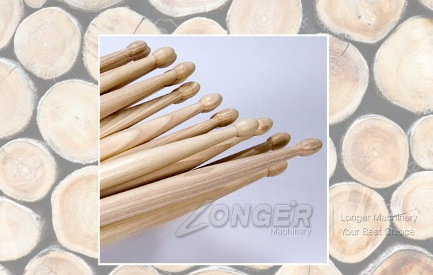 drum wood sticks machine