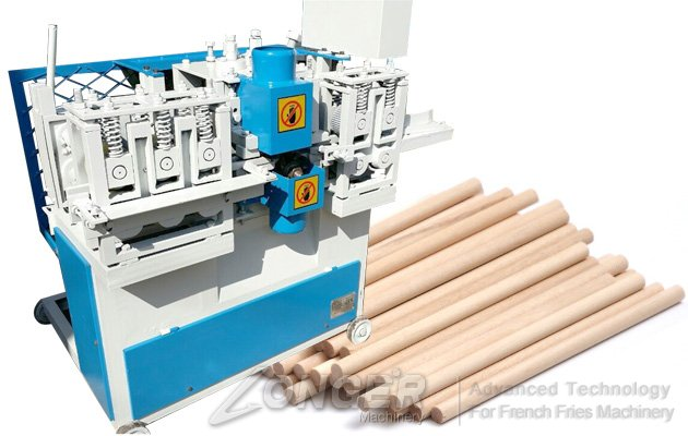 Wood Rod Rounding Machine