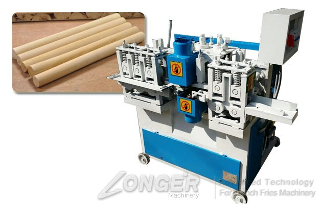 Wood Round Stick Making Machine